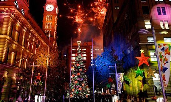 看看全球各国最美的圣诞树